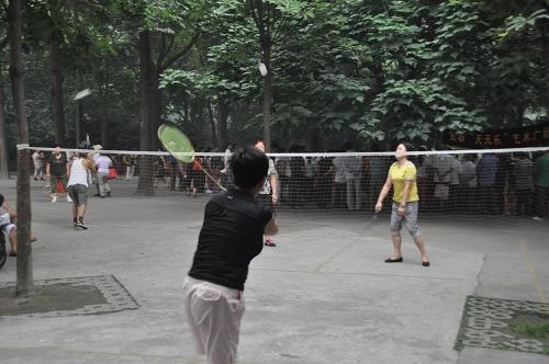 Badminton in Chengdu