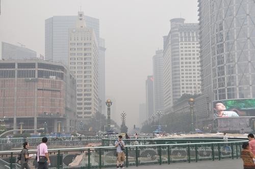 Smog in Chengdu