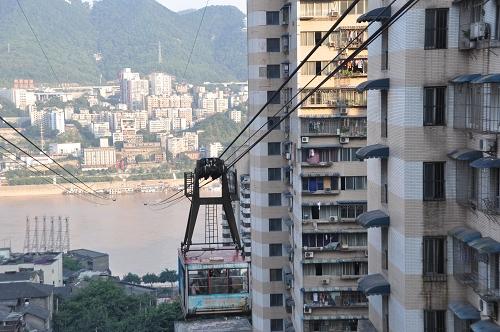 Jangtse-Seilbahn Chongqing
