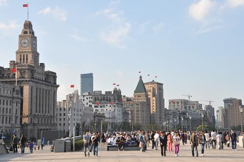 Bild: Bund in Shanghai