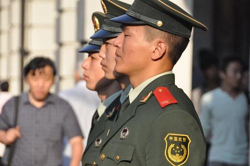 Bild: Polizei in Shanghai