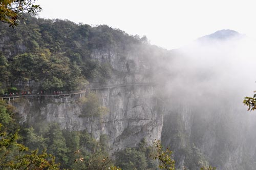 Himmelstor und Nationalpark am Tianmen Shan in Zhangjiajie