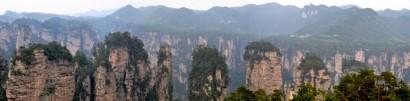 Bild: Zhangjiajie Nationalpark Karstfelsen