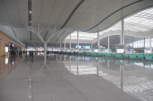 Neuer CRH-Bahnhof Changsha South Station
