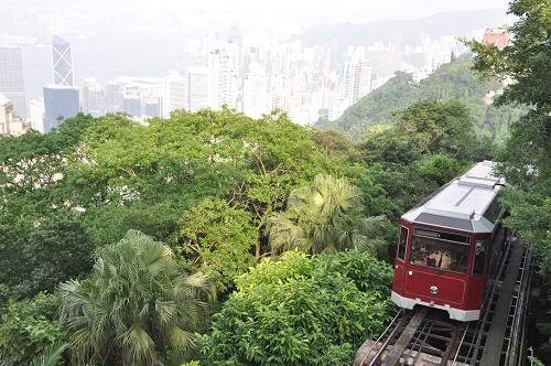 Bild: Hongkong Peak Tramway