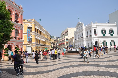 Largo de Senado in Macau
