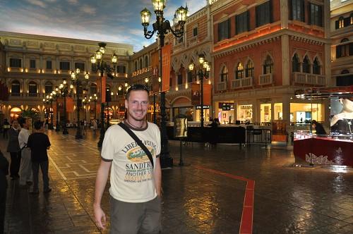 Mall im Venetian Ressort (Venice) bzw. Casino in Macau