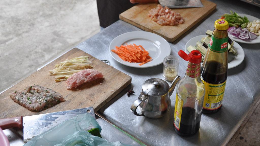 Chinesisch kochen mit dem roten drachen anders reisen for Chinesisch kochen