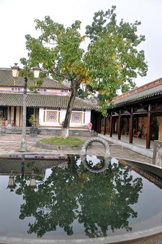 Bild: Hallen der Mandarine in der Kaiserstadt Hue