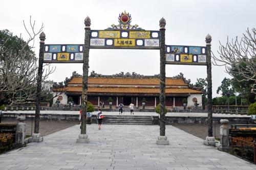 Bild: Thai Hoa Palast in der Kaiserstadt Hue