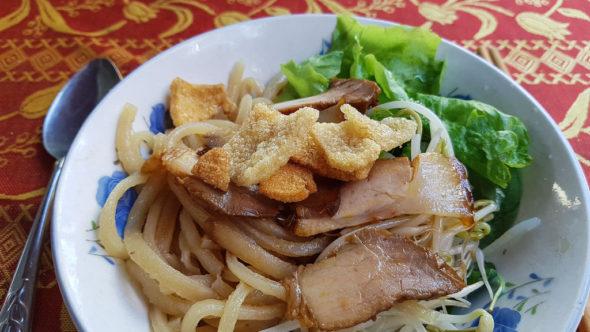 Vietnamesische Spezialität Cao Lau in Hoi An