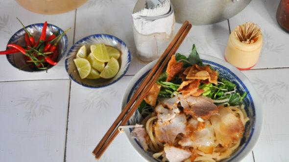 Cao Lau - Spezialität in Hoi An
