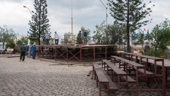 Kirche Nha Trang - Vorplatz