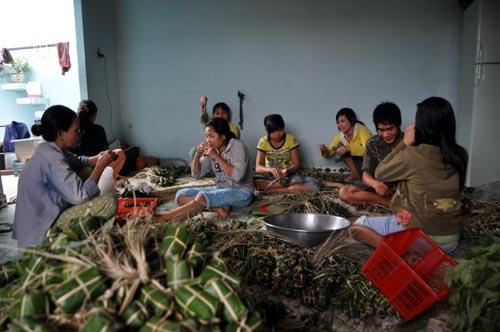 Bild: Nem-Produktion in Vietnam