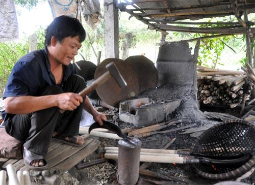 Bild: Schmied in Vietnam