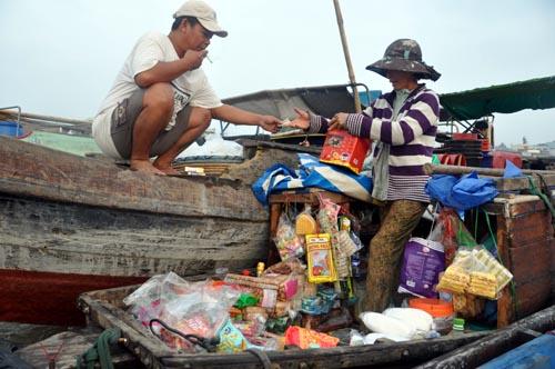 Bild: Schwimmender Markt in Cai Rang - Vietnam
