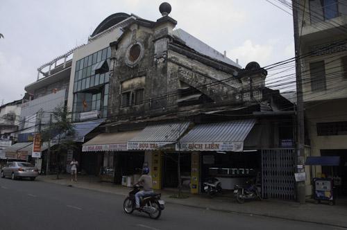 Bild: Haus aus der französischen Kolonialzeit in Can Tho