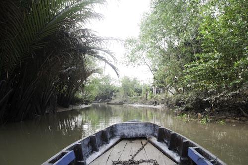 Bild: Kanal im Mekong-Delta