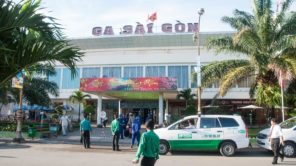 Bahnhof Saigon (Ho-Chi-Minh-Stadt) in Vietnam
