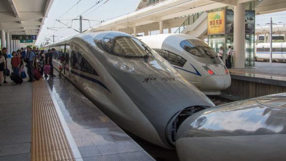 CRH Hochgeschwindigkeitszug in China
