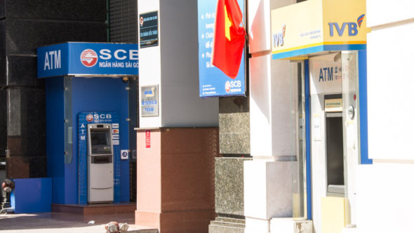 Geldautomat in Vietnam