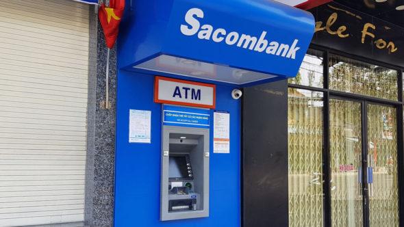 Agribank Geldautomaten in Vietnam