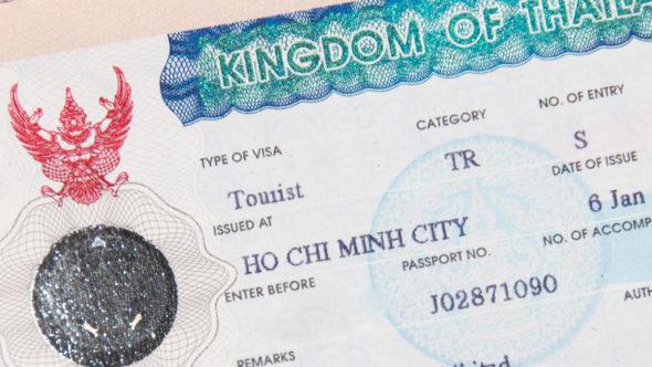 Visum für Thailand in Ho-Chi-Minh-Stadt (Saigon) beantragt