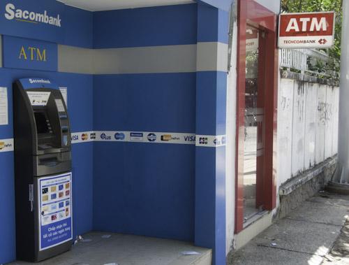 Bild: Geldautomaten in Vietnam
