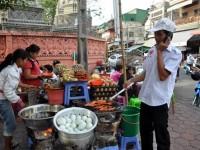 Bild: Straßenküche in Phnom Penh - Kambodscha