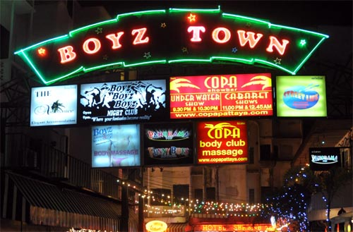 Bild: Boyz Town in Pattaya