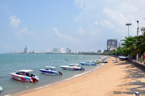 Bild: Strand in Pattaya
