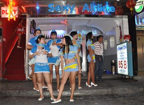 Bild: Sexy Girls der Sexy Airlines in Pattaya