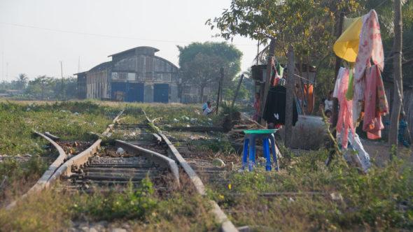 Bahnhof Battambang als Lost Place im Jahr 2011