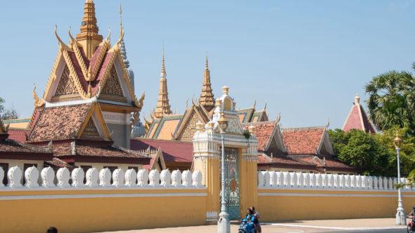 Dächer des Königspalast Phnom Penh