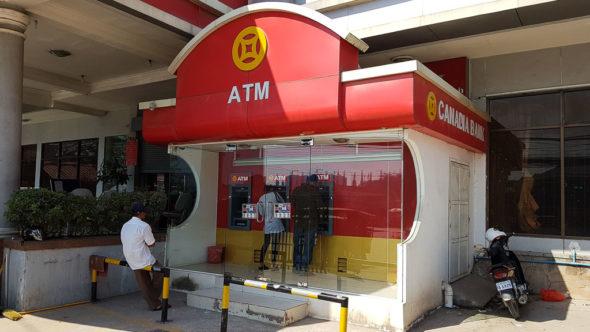 Geldautomat in Kambodscha