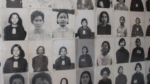 Genozidopfer Tuol Sleng Phnom Penh
