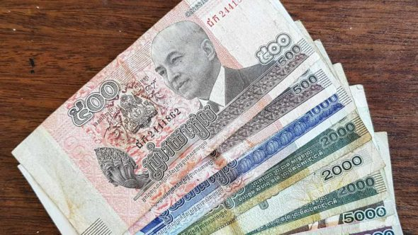 Kambodschanische Riel Währung in Kambodscha