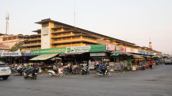 Psar Nat Zentralmarkt in Battambang