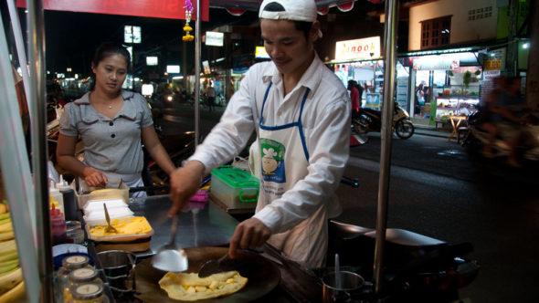 Banana Pancake - Dessert-Klassiker in Thailand