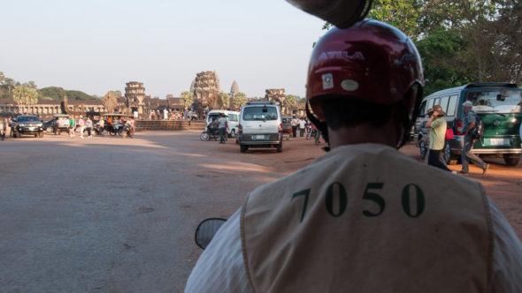 Tuk Tuk Fahrer Angkor Wat