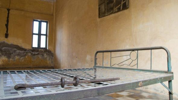 Völkermordmuseum Tuol Sleng in Phnom Penh