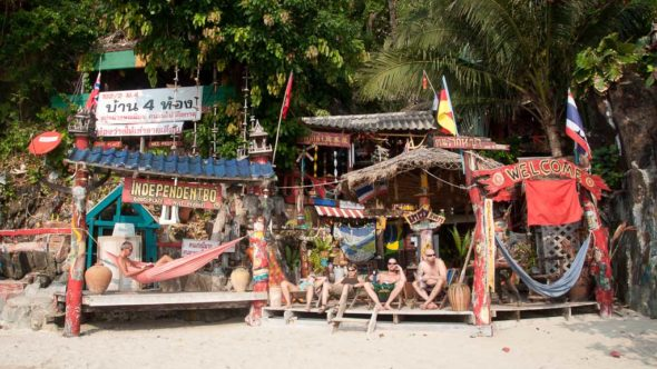 Independent Bo am White Sand Beach auf Koh Chang