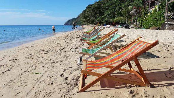 White Sand Beach auf Koh Chang - Nördlicher Bereich