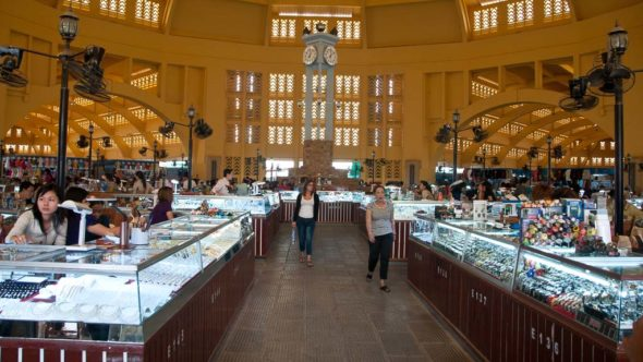 Zentralmarkt in Phnom Penh