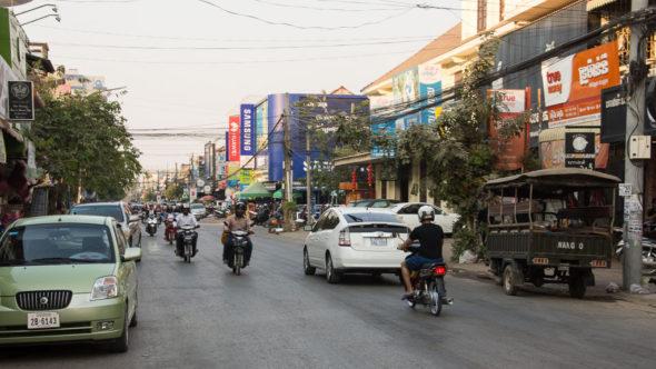 Zentrum von Battambang