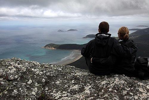 Bild: Silvan und Nadja am Mt. Oberon in Australien - Bild: Silvan & Nadja Häusler