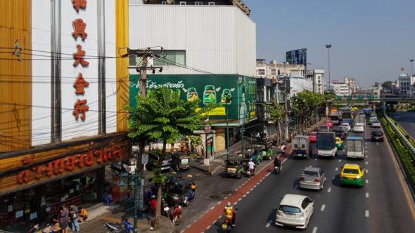 Wongwiang Yai Fußgängerbrücke