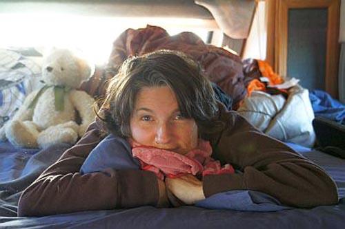 Bild: Bloggt regelmäßig über ihre Reiseerlebnisse: Mama Nadine - Bild: Hudsonfamily.ch