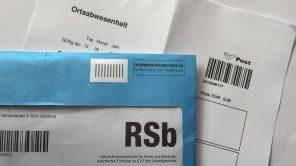 RSb Brief und Ortsabwesenheit - Österreichische Post