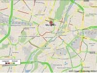 Bild: Google Maps Verkehr Screenshot München